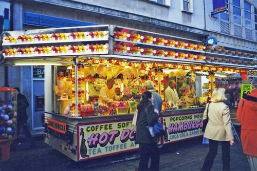 Lovely grub at the street fair