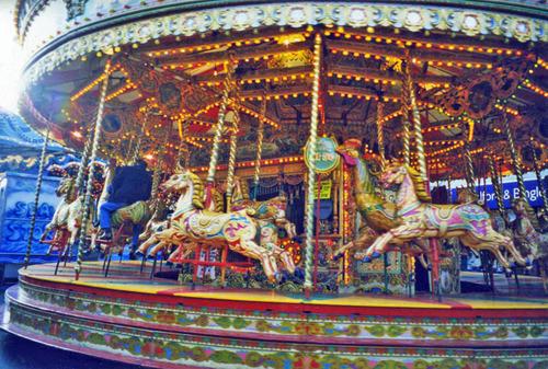 Always popular - the Golden Gallopers