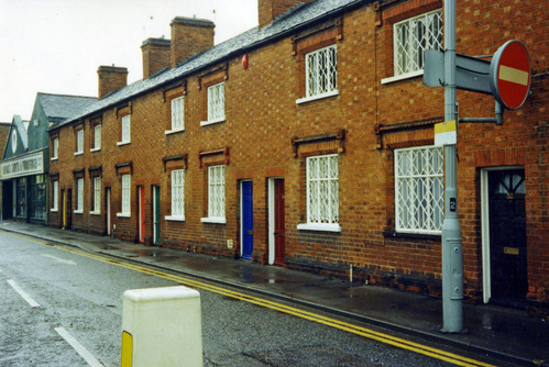 Preserved - weavers' cottages in PinfoldGate