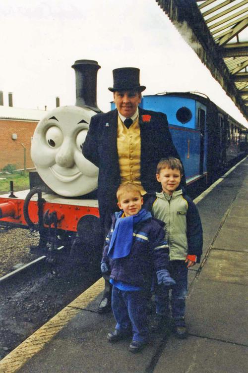 Thomas the Tank Engine always a big favourite