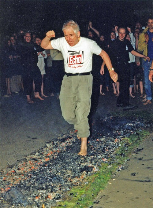 Punchy way to tackle a firewalk